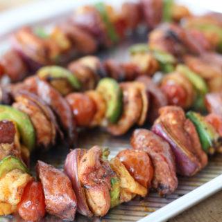 Jambalaya Cajun Kebabs