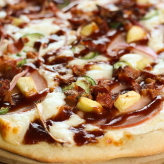 Spicy Hawaiian Smoked Pizza